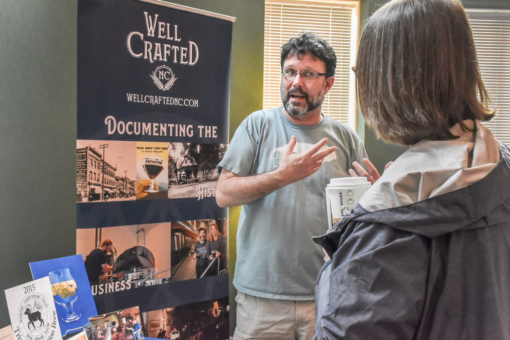 University Libraries Digital Technology Consultant Richard Cox discusses the Well Crafted NC project.