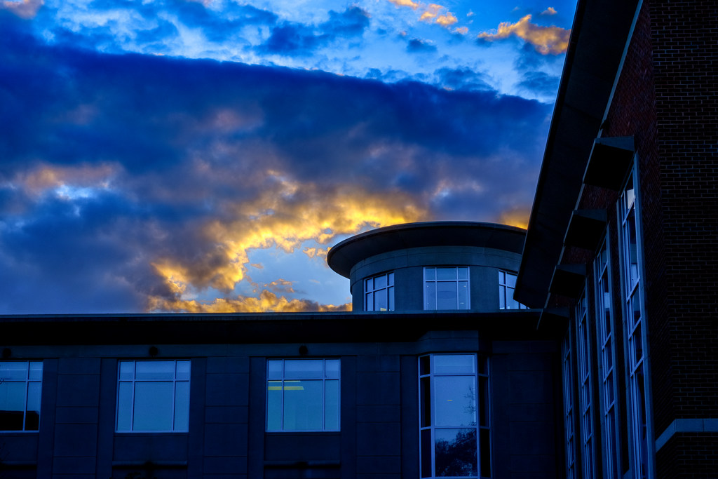 Sunset over the EUC